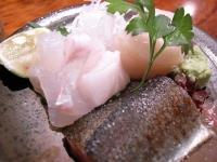 ヒラメ・貝柱・秋刀魚の3種盛り.jpg